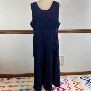 👗 Ralsey Cotton corduroy jumper dress size 14